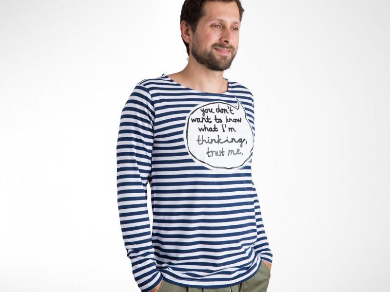 ba68ec880 Pánske tričká s autorským dizajnom — Kompot.sk
