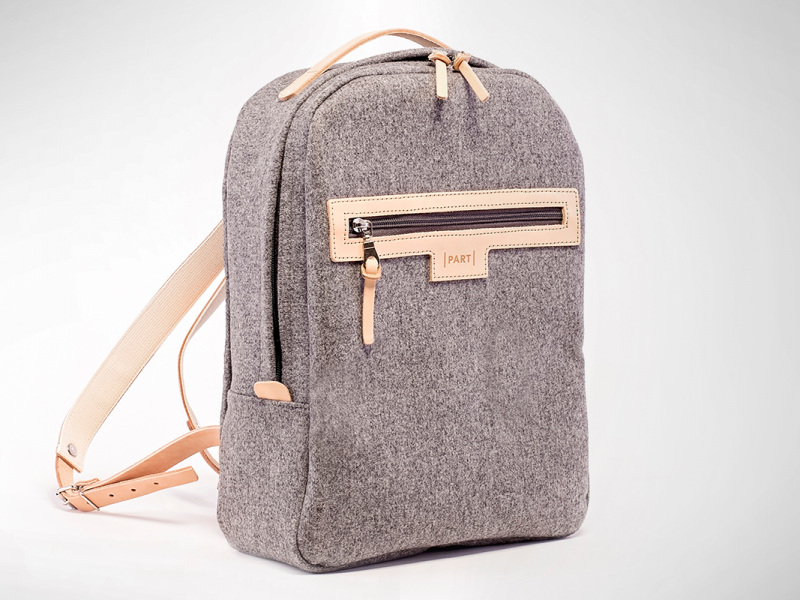 KOMPOT part backpack wool hlavna foto