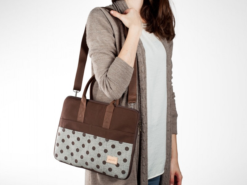 NB Bag Felt Brown 13 2