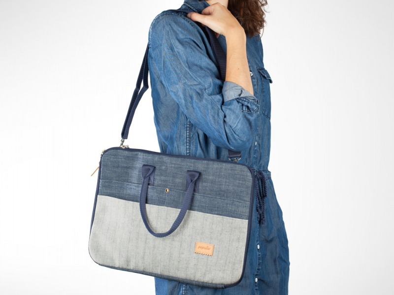 NB bag pocked denim 15