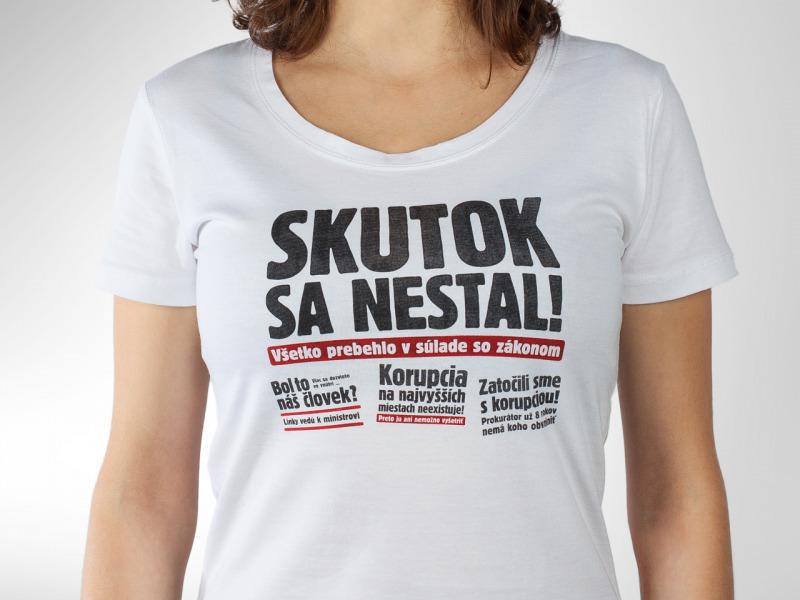 fe969e686 Večne živé pánske tričko ZOMRI — Kompot.sk