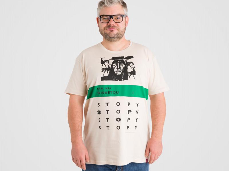 Detské tričko STOPY Winnetou I. — Kompot.sk 5afb98f6d7b