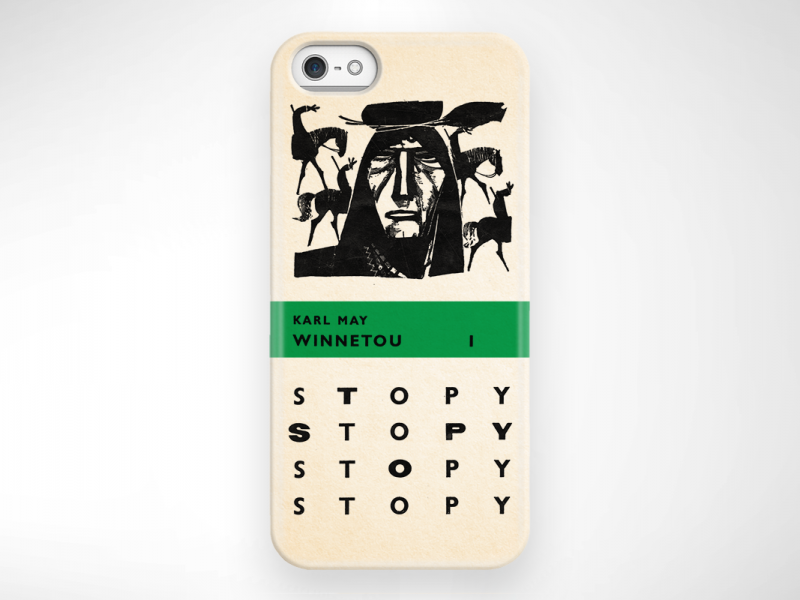WINNETOU 1 CASE iphone5 2080x800