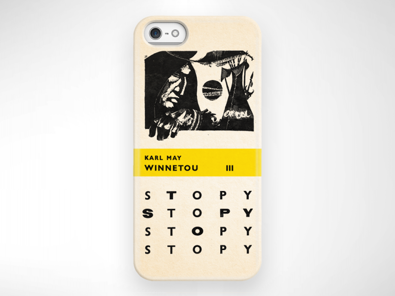 WINNETOU 3 CASE iphone5 2080x800
