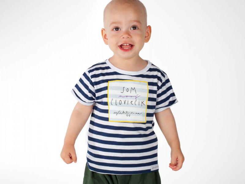 d11fdc3aaf detské tričko som nový človiečik