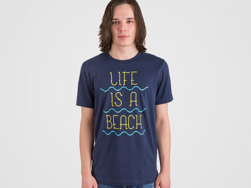 panske-tricko-life-is-a-beach-navy