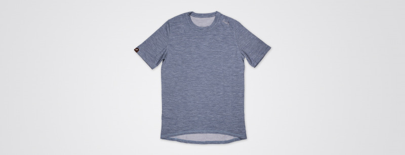 Urban Merino t shirt China Blue MAIN