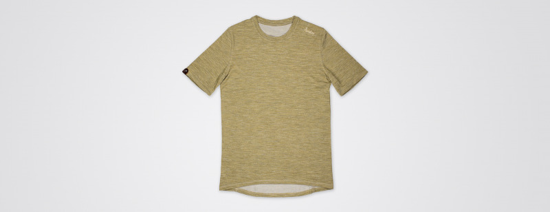 Urban Merino t shirt Golden Palm MAIN